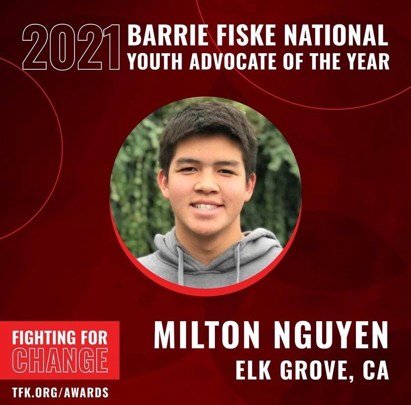 California Youth Advocate Nominated National Youth Advocate of the Year